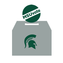 MSUVOTE logo