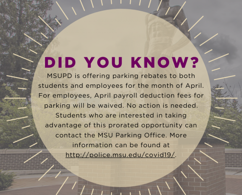 Did you know - parking graphic