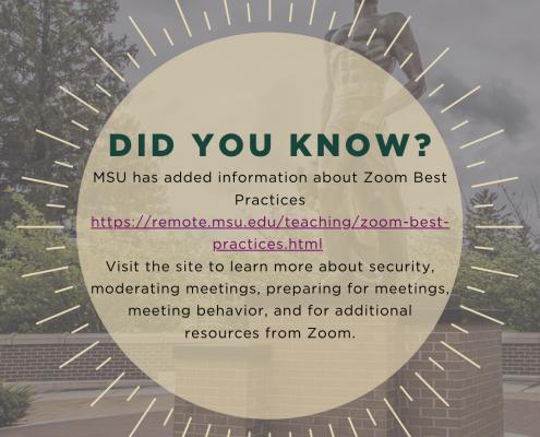 zoom best practices post