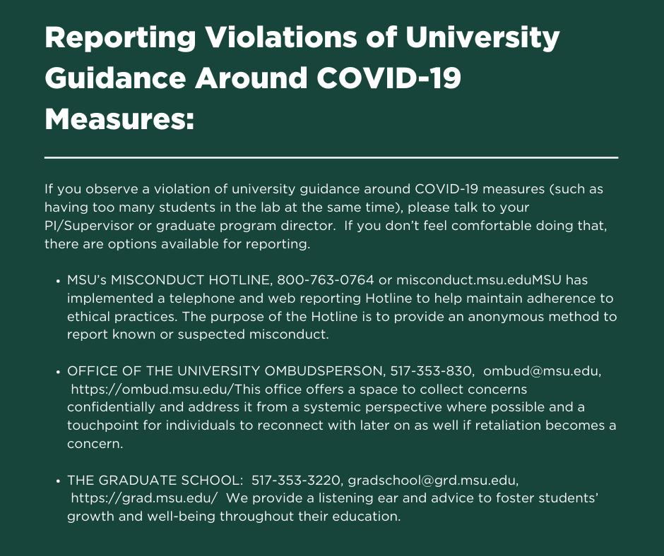 Covid info post2