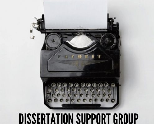 Phd dissertation support groups