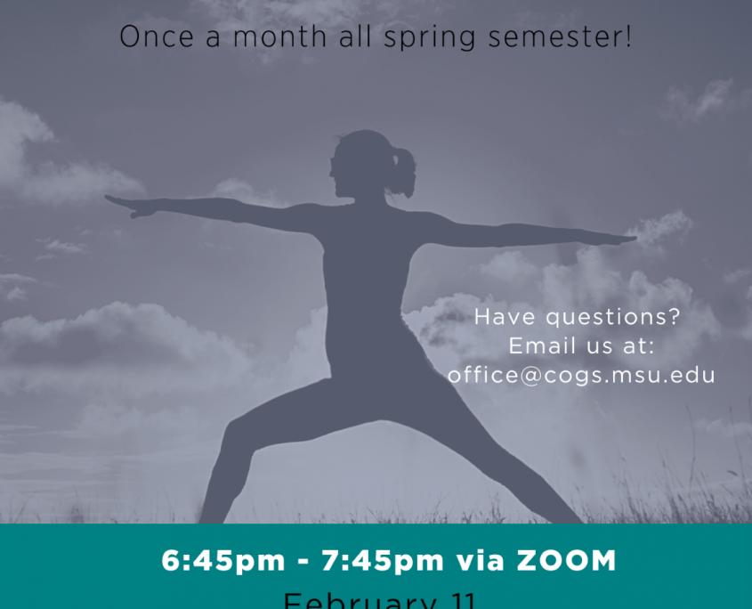 Spring Yoga Series Flyer