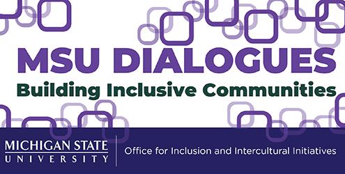 MSU Dialogues Flyer