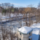 winter scene on MSU campus