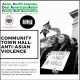 March 25th Community Town Hall Flyer