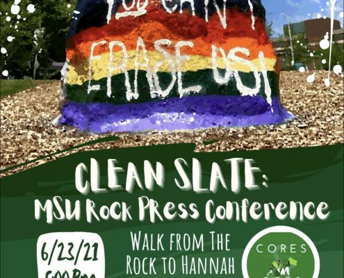 Cores and Cops Press Conference Flyer